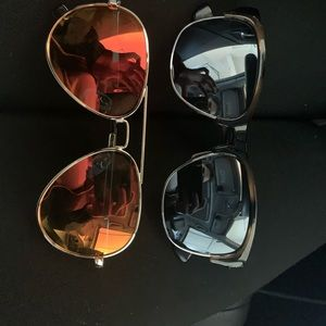 2 Pairs of Sunglasses